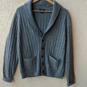 Brooks Brothers wool shawl cardigan